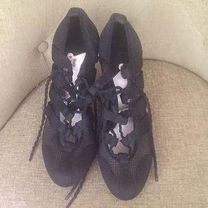 Sexy platform black heels